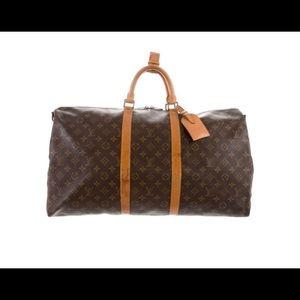Louis Vuitton classic travel bag